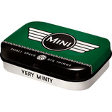 Mini - Logo Green  Mint Box  4x6x1,6cm