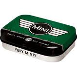 Mini - Logo Green  Mint Box  4x6x1,6cm  /  81343