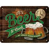It`s Beer O`Clock 20x15cm  /  26214