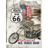 Route 66 Old Trails Road US Highways    30x40cm