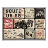 Rout 66 Bike Map, Magnet-Set 9x2x7cm  /  83117