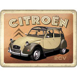 Citroen - 2CV  15x20cm  /  26257