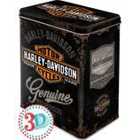 Harley Davidson Genuine Logo, Harley-Day Vorratsdose L /  3L / 30107