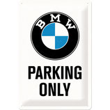BMW - Parking Only  20x30cm  /  22241