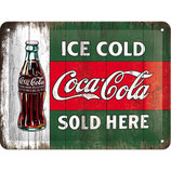 Coca-Cola - Ice Cold Here 20x15cm  /  26174