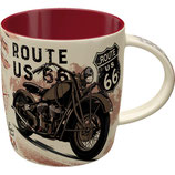 Route 66 Bike Map Tasse  8,5x9cm 330ml  /  43061