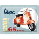 Vespa GS 150 Since 1955  20x15cm  /  26231