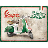 Vespa Italien Legend 30x40cm