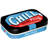 Chill Pills - Nostalgic Pharmacy  Mint Box  4x6x1,6cm