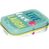 Live Love Laugh - Word Up  Mint Box  4x6x1,6cm