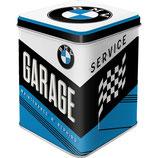 BMW Garage - Tea-Box  7,5 x 7,5 x 9,5cm / 31307