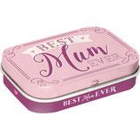 Best Mum Ever  MINT BOX   4x6x1,6cm  /  81378