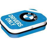 BMW - Drivers Only Blue  Mint Box  4x6x1,6cm  /  81368