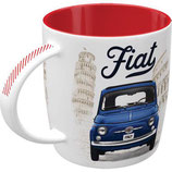 Fiat - Good things are ahead of you  Tasse  8,5x9cm, 330ml  /  43066