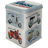 Vespa - Model Chart  Tea-Box  7,5 x 7,5 x 9,5cm / 31305