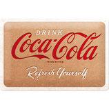 Coca-Cola - In Bottles - Logo Yellow  30x20cm  /  22308