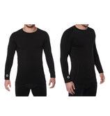 Elite compressie shirt lange mouw (zwart)