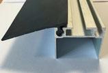 Profile alu pour  derniere panneau ( 40mm d epaisseur ( hauteur de profile 25mm))