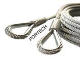 Câble pour porte sectionnelle