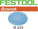 STF-Scheibe Korn080, Granat D225