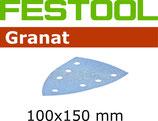 STF-Blätter Korn100-400, Granat Delta