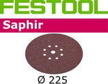 STF-Scheibe Korn036, Saphir D225