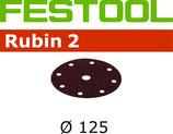 Festool StickFix Schleifscheiben Korn: 080, D125; 50 Stück