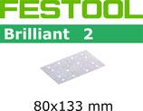 STF-Streifen Korn100-220, Brilliant2,80x133 mm