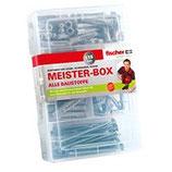 fischer Meister-Box UX mit Schrauben und Haken (118-Teilig)