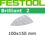 STF-Blätter Korn240-400, Brilliant2 Delta