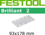 STF-Streifen Korn 080, Brilliant2/93x178mm