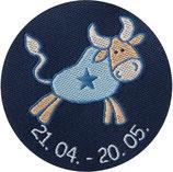 Sternzeichen Schnuffeltuch Stier