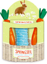 Möhren Springseil Fröhliche Ostern