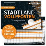 """STADT LAND VOLLPFOSTEN® - CLASSIC EDITION - """"Intelligenz ist relativ"""""""