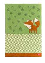 Baby Strickdecke Fuchs Forest Fox