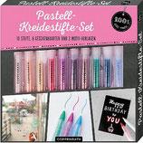 Pastell-Kreidestifte-Set