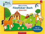 Mein erstes Filzsticker-Buch: Bauernhof