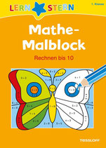 Mathe-Malblock. Rechnen bis 10