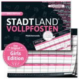 """STADT LAND VOLLPFOSTEN® - GIRLS EDITION """"Mädchenrunde"""""""