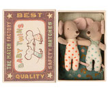 Baby Mäuse - Zwillinge in Matchbox