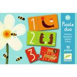 Lernspiel - Puzzle duo/trio: Zahlen