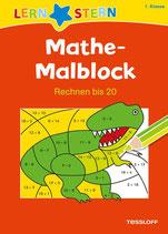 Mathe-Malblock. Rechnen bis 20