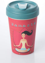 Becher BambooCUP - Yoga Love