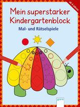 Mein superstarker Kindergartenblock: Malen, Suchen