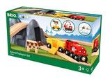Bahn Acht Tunnel Set mit Kuhwagen