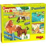 Puzzles Bauernhoftiere