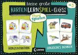 Meine große KartenLernSpiel-Box - Konzentration/Logisches Denken