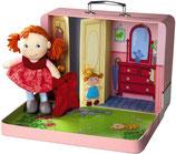 Puppe Shona mit Koffer