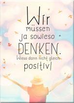 Magnet Positiv denken
