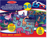 Melissa & Doug - 3D Stickerblock